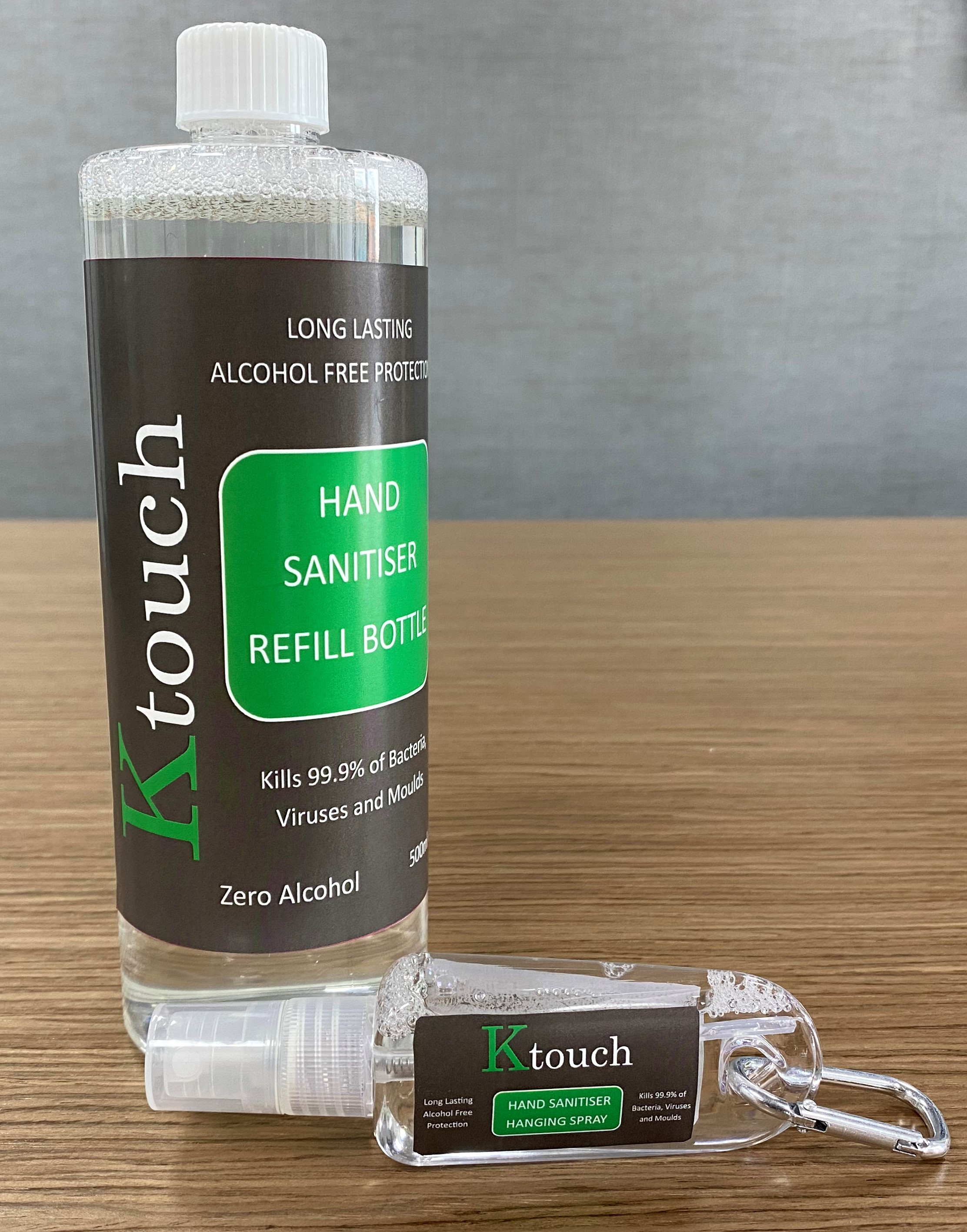 ktouch Hand Sanitiser Products