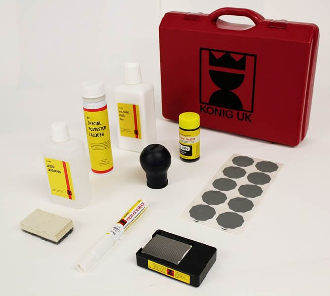 Polyester Lacquer Repair Kit